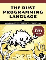 The Rust Programming Language  Covers Rust 2018  PDF