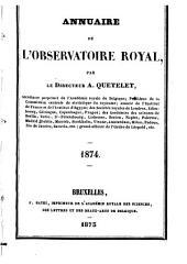 Annuaire de l'Observatoire royal de Bruxelles: Volume41