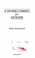A Homecoming for Murder PDF