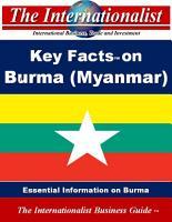 Key Facts on Burma  Myanmar  PDF