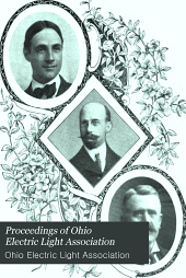 Proceedings of Ohio Electric Light Association: Volume 10