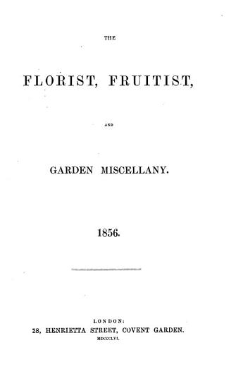 The Florist and Pomologist PDF