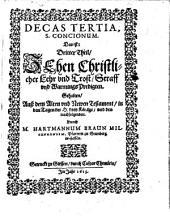 Conciones de tempore: d.i. Predigten auß dem Alten und Newn Testament, Band 3