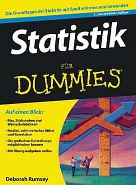 Statistik f  r Dummies PDF
