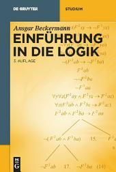 Einführung in die Logik: Ausgabe 3