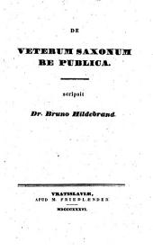 De veterum Saxonum Re publica: Volume 2