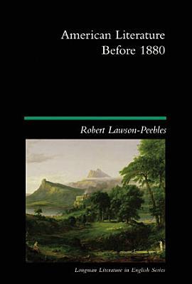 American Literature Before 1880 PDF