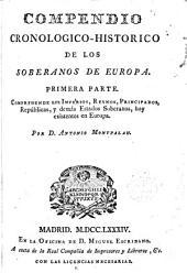 Compendio cronológico-histórico de los soberanos de Europa...