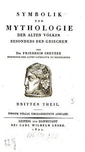 Symbolik und Mythologie der alten Völker, besonders der Griechen: 3