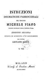 Istruzioni Dogmatiche Parrocchiali del Teologo Michele Piano