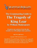 Grammardog Guide to King Lear PDF