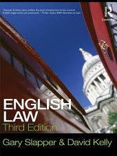English Law: Edition 3