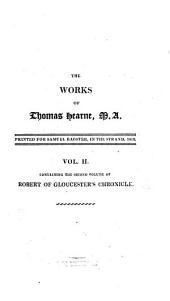 Robert of Gloucester's Chronicle: Volume 2