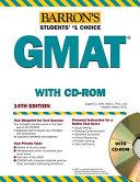 Barron s GMAT with CD ROM PDF