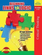 Beginning Links to Logic - Grades 1-2