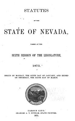 Statutes of the State of Nevada PDF