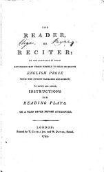 The Reader Or Reciter Book PDF