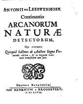 Arcana naturae detecta: Volume 2