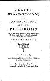 Traité d'Insectologie: Volume1