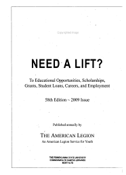 Need a Lift  PDF