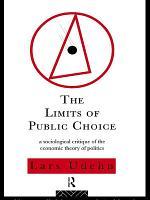 The Limits of Public Choice PDF