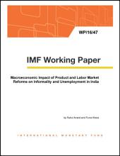 Macroeconomic Impact of Product and Labor Market Reforms on Informality and Unemployment in India