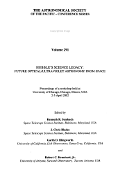 Hubble's Science Legacy