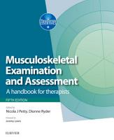 Musculoskeletal Examination and Assessment E Book PDF
