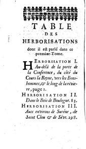 Histoire des plantes qui naissent aux environs de Paris, avec leur usage dans la médecine ... par M. Pitton Tournefort,... 2e édition revue et augmentée par M. Bernard de Jussieu,...
