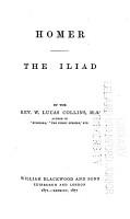 Homer  the Iliad PDF