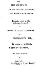 The Life And Exploits Of The Ingenious Gentleman Don Quixote De La Mancha Book PDF