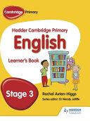 Hodder Cambridge Primary English  Student Book Stage 3 PDF