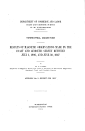 Results of Magnetic Observations Made by the Coast and Geodetic Survey Between July 1, 1902, and June 30, 1903