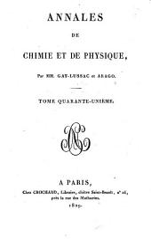 Annales de chimie et de physique: Volume 41
