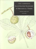 The Cambridge Illustrated Glossary of Botanical Terms PDF