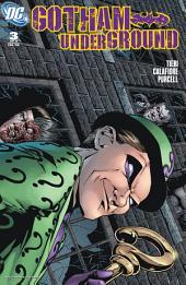 Gotham Underground (2007-) #3
