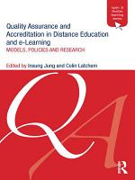 Quality Assurance and Accreditation in Distance Education