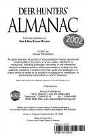 Deer Hunters' Almanac