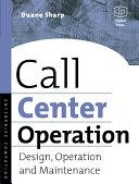 Call Center Operation