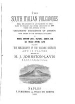 The South Italian Volcanoes