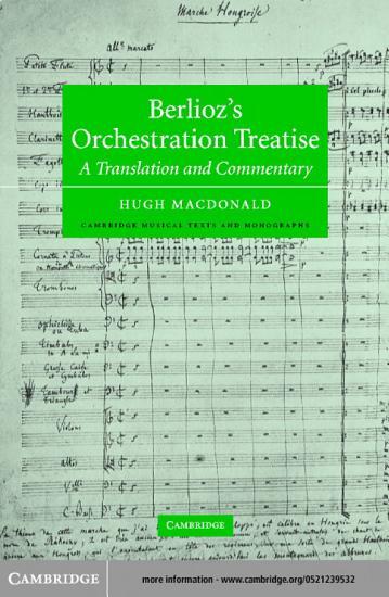Berlioz s Orchestration Treatise PDF