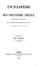Encyclopédie du dix neuvième siècle [ed. by A. de Saint-Priest].