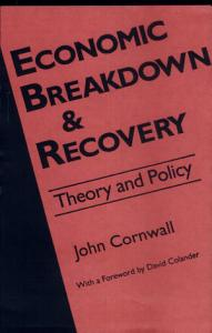 Economic Breakdown and Recovery Book
