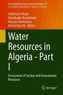 Water Resources in Algeria - Part I