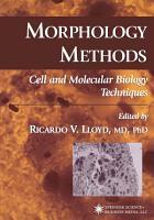 Morphology Methods PDF