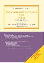 Bloomsbury's The Companies Act, 2013 and Rules