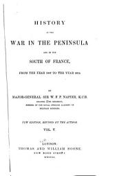 History of the war in the peninsula: and in the south of France, from the year 1807 to the year 1814, Volume 5