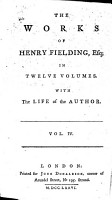 The Works of Henry Fielding     With the Life of the Author PDF