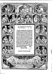 Io. Frobenius Studiosis Omnibus S. D. Accipito candide lector, Erasmi Roterodami, prouerbiorum Chiliadas