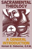 Sacramental Theology PDF